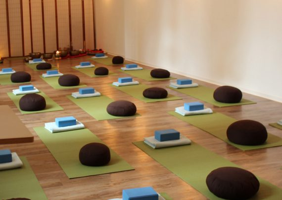 Yoga-Raum in Chemnitz von Yoga Inspiration