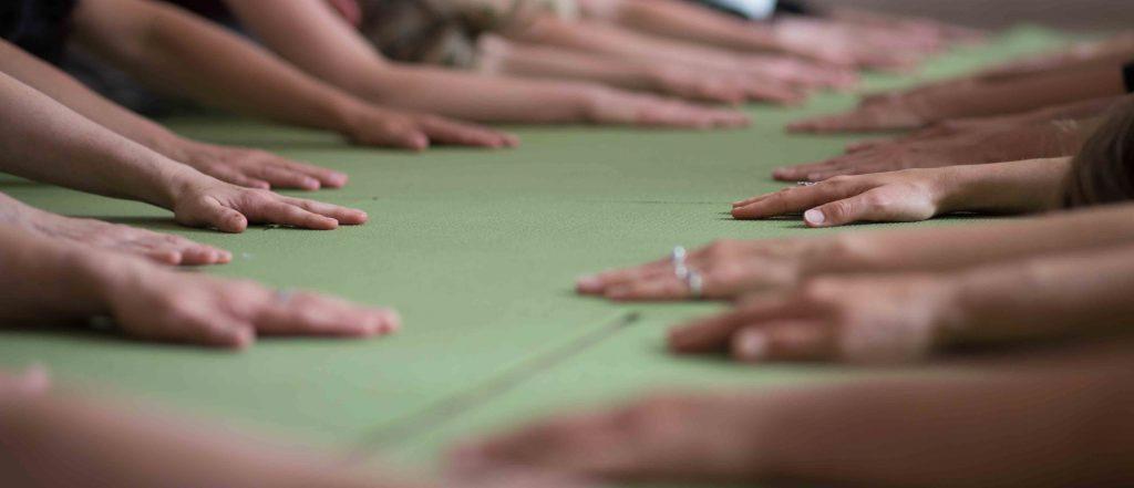Yogawoche bei Yoga-Inspiration mit Yin Yoga, Yoga Nidra und anderen Angeboten..