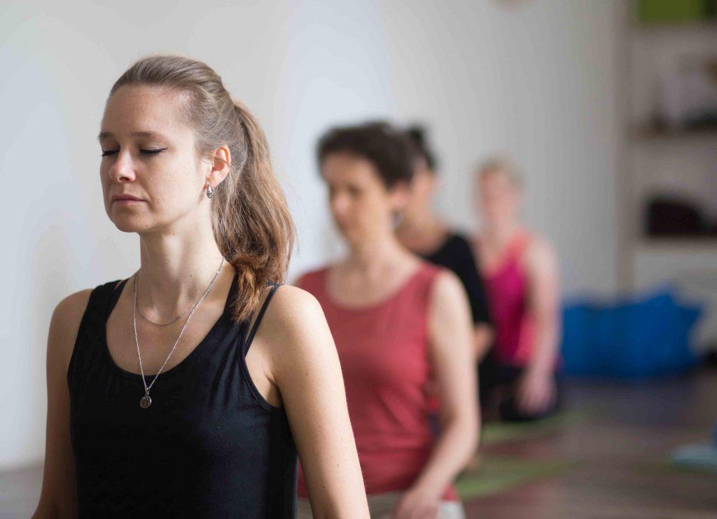 Meditation im Zentrum der Stadt,  bei Yoga-Inspiration in Chemnitz.