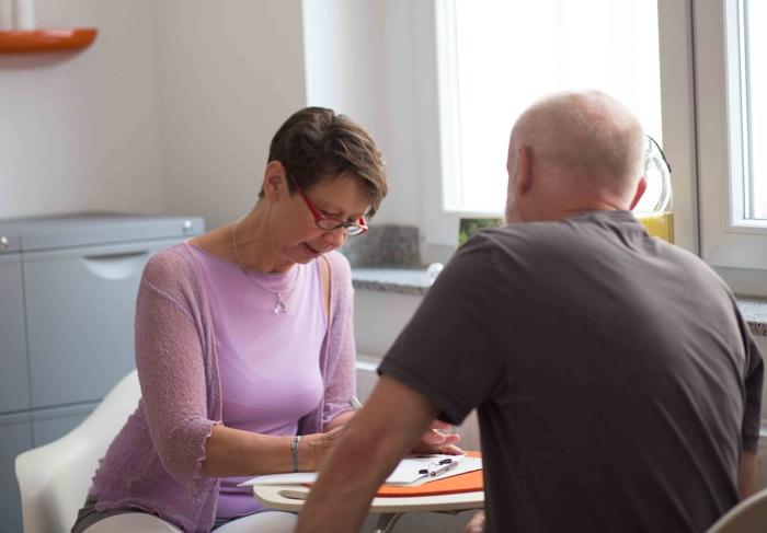 Therapiegespräch und Anamnese sind ein wichtiger Bestandteil des Therapie.