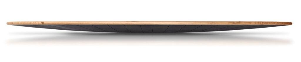 Yogaboard im Querformat.