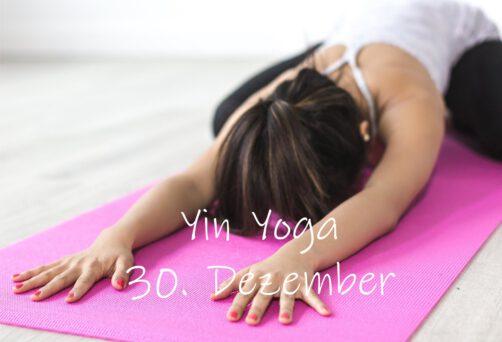 Yin Yoga | Entspannt ins neue Jahr